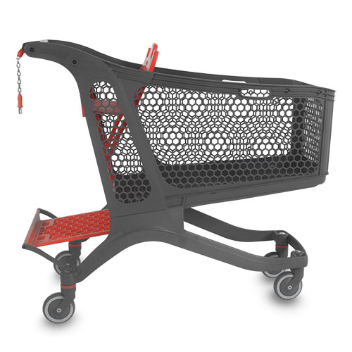 Shopping carts manufactured in Spain according to ISO 9001 standards.